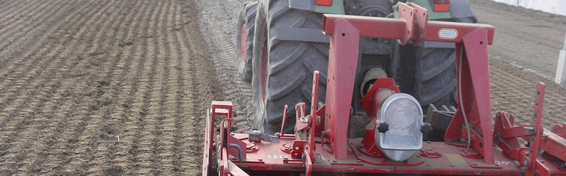 Roteren van grond kas